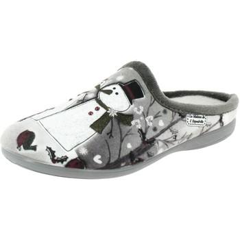 Chaussures Femme Chaussons La Maison De L'espadrille n357 gris