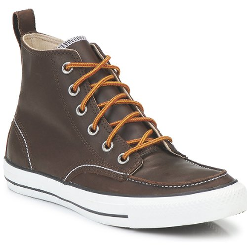 Converse CLASSIC BOOTS HI Marron  - Chaussures Boot Homme