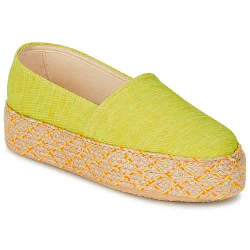 Chaussures Femme Espadrilles Betty London TROOPIKA Jaune