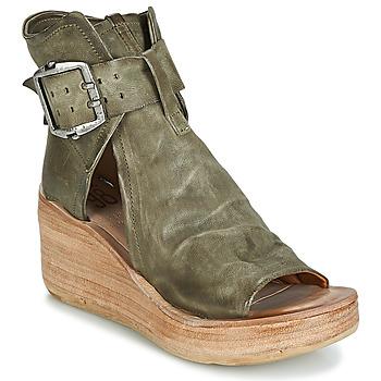 Chaussures Femme Sandales et Nu-pieds Airstep / A.S.98 NOA BUCKLE Kaki