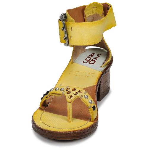 Sandales Et Femme Jaune pieds 98 Kenya AirstepA s Nu jMVzLqpGSU