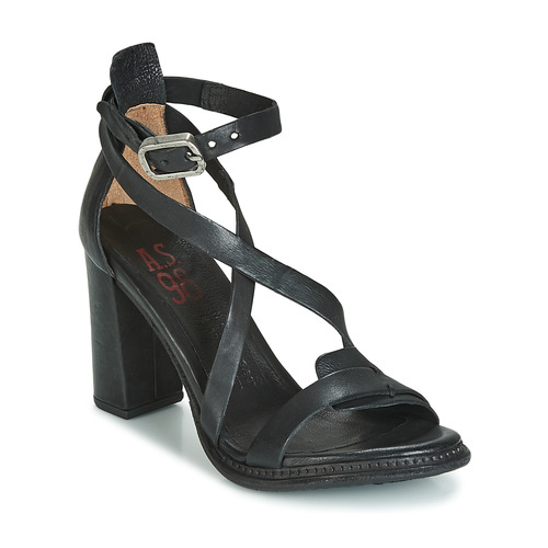98 Nu Et Sandales s Femme Basile Noir AirstepA pieds oCexdB