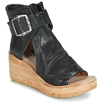 Chaussures Femme Sandales et Nu-pieds Airstep / A.S.98 NOA BUCKLE Noir