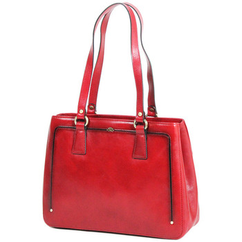 Sacs Femme Cabas / Sacs shopping Katana Sac shopping Cuir de Vachette collet vegetal 66803 Rouge