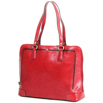 Sacs Femme Cabas / Sacs shopping Katana Sac Shopping Cuir De Vachette Collet Vegetal 66807 Rouge