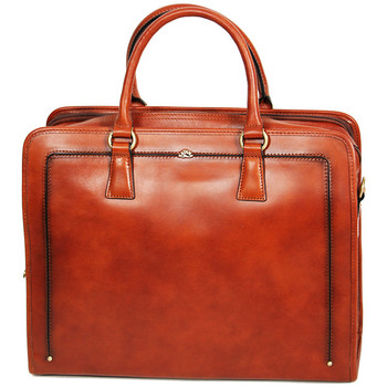 Sacs Femme Porte-Documents / Serviettes Katana Porte-document en Cuir de Vachette Collet Vegetal 66808 Marron