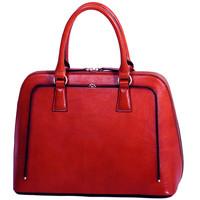 Sacs Femme Sacs porté main Gerard Henon Sac a main Cuir de Vachette Collet Vegetal 66828 Rouge