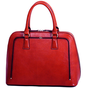 Sacs Femme Sacs porté main Katana Sac a main Cuir de Vachette Collet Vegetal 66828 Rouge