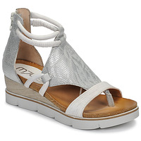 Chaussures Femme Sandales et Nu-pieds Mjus TAPASITA Blanc / Argenté