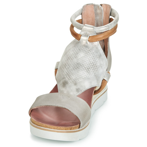 Mjus Et Tapasita Nu Argenté Sandales Femme pieds nkP0Ow8
