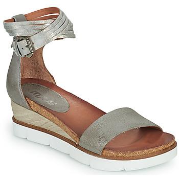 Chaussures Femme Sandales et Nu-pieds Mjus TAPASITA Gris / Argenté