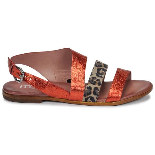 Femme pieds Nu Chaussures Sandales Chat Et Buckle RougeLéopard Mjus wPn0kO