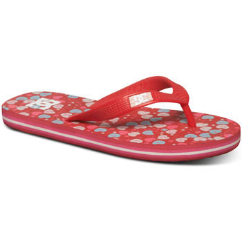 Chaussures Fille Tongs DC Shoes Spray GRK raspberry