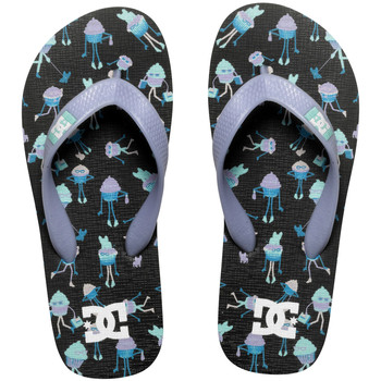 Chaussures Fille Tongs DC Shoes Spray GRK black/purple