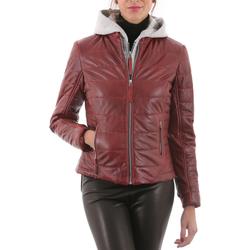 Vêtements Femme Vestes en cuir / synthétiques Deercraft Ruby Rouge Rouge