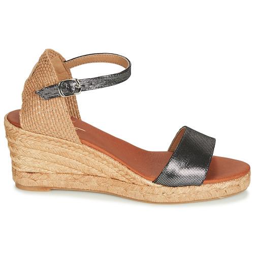 pieds Betty Femme Jassiale Sandales Nu London Noir Chaussures Et uKJTc3lF1