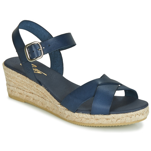 Chaussures Femme Sandales et Nu-pieds Betty London GIORGIA Marine