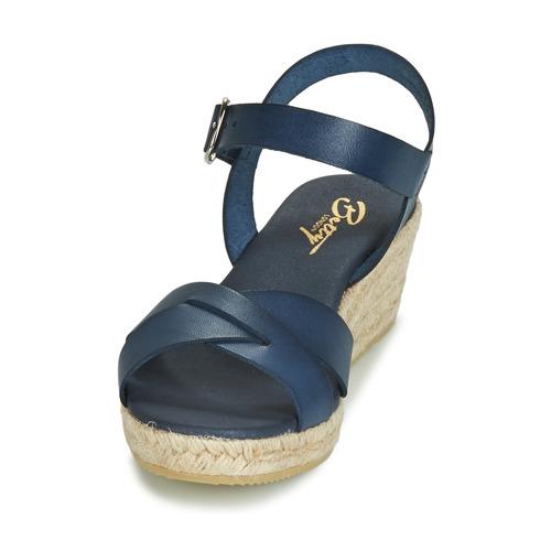 Giorgia London Femme pieds Betty Et Sandales Nu Marine 45RAjL