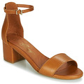 Chaussures Femme Sandales et Nu-pieds Betty London INNAMATA Camel