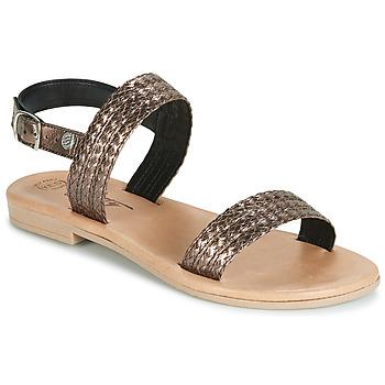 Chaussures Femme Sandales et Nu-pieds Betty London JADALETTE Bronze