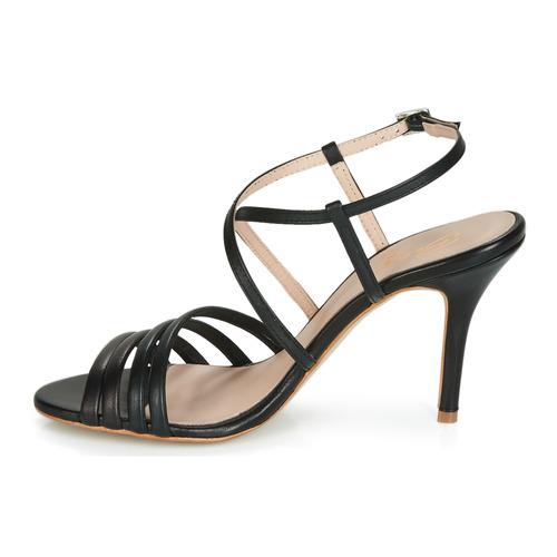 Chaussures Betty London Nu Noir Sandales Et pieds Jikotipe Femme wiuTPXZOk