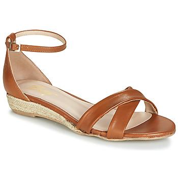 Chaussures Femme Sandales et Nu-pieds Betty London JIKOTIVE Camel