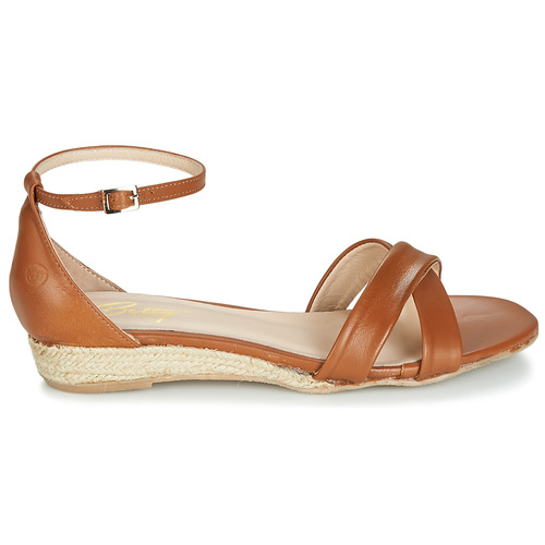 Femme Jikotive pieds London Camel Nu Sandales Betty Et H29YDeWbIE