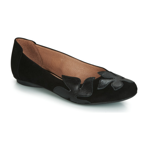 Chaussures Femme Ballerines / babies Betty London ERUNE Noir