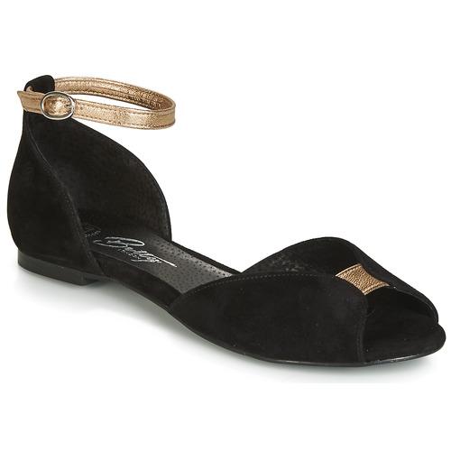 Femme London Betty Sandales pieds Nu Inali Noir Et rxshdBQtC