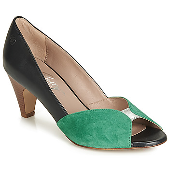 Chaussures Femme Escarpins Betty London JIKOTIZE Noir / vert