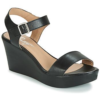 Chaussures Femme Sandales et Nu-pieds Betty London CHARLOTA Noir