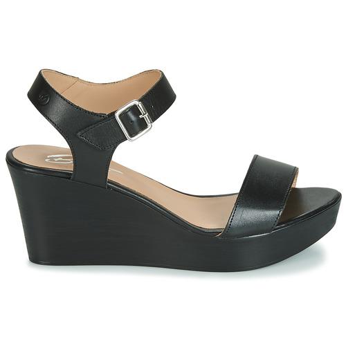Betty London Nu Et Charlota Sandales Noir pieds Femme 5AL34Rj