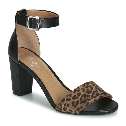 Chaussures Femme Sandales et Nu-pieds Betty London CRETOLIA Noir