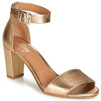 Chaussures Femme Sandales et Nu-pieds Betty London CRETOLIA Doré