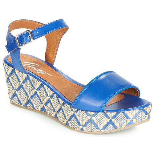 Chaussures Femme Sandales et Nu-pieds Betty London JIKOTERE Bleu