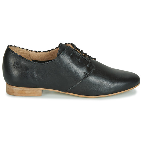 Femme Jikotefe Betty Derbies London Noir rCdoxBe