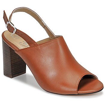 Chaussures Femme Sandales et Nu-pieds Betty London JIKOTEGE Camel