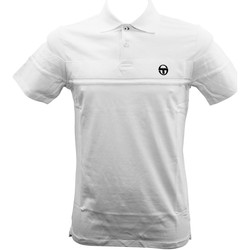 Vêtements Homme Polos manches courtes Sergio Tacchini Polo Young Line Blanc