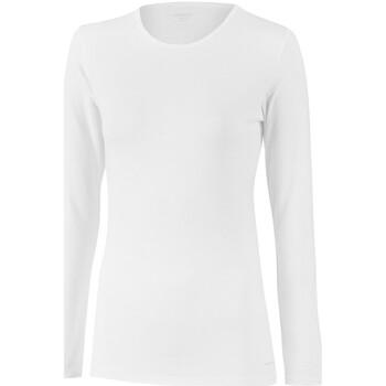 Vêtements Femme T-shirts manches longues Impetus Tricot de peau col rond manches longues blanc femme Blanc