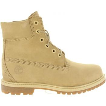 Chaussures Femme Randonnée Timberland A1K3Y 6IN PREMIUM Beige