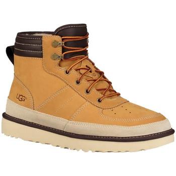 Chaussures Homme Boots UGG Basket Beige