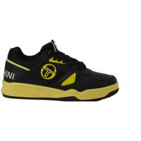 Chaussures Homme Baskets basses Sergio Tacchini Basket  TOP PLAY LTHR - STM822005-BLACK-SOLEIL Noir