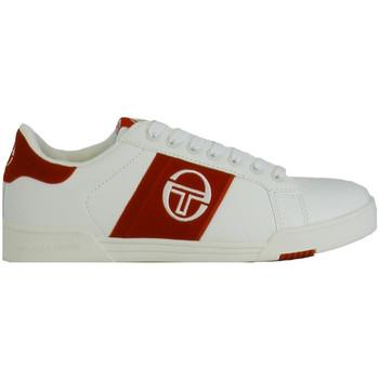 Chaussures Homme Baskets basses Sergio Tacchini Basket  PARIGGI LTX + SD - STM824126-WHITE-RED Blanc