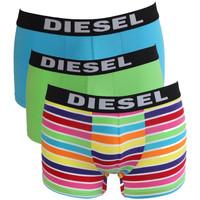 Sous-vêtements Homme Boxers Diesel Lot de 3 boxers Vert