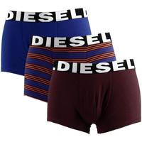 Sous-vêtements Homme Boxers Diesel Lot de 3 boxers Bordeaux
