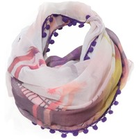 Accessoires textile Femme Echarpes / Etoles / Foulards Little Marcel Chèche E Print 1 Vieux Rose Rose
