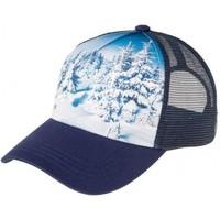 Accessoires textile Homme Casquettes Pull-in Casquette Homme Microcoton SNOWLOVE Bleu Blanc bleu