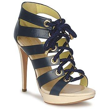 Chaussures Femme Sandales et Nu-pieds Pollini PA1609CC1V Bleu