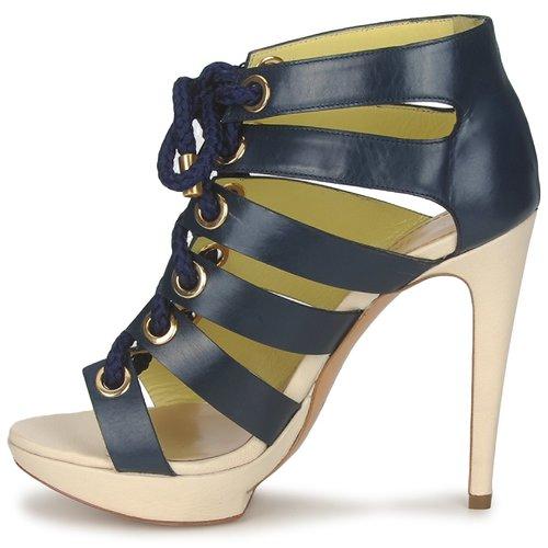 PA1609CC1V  Pollini  sandales et nu-pieds  femme  bleu