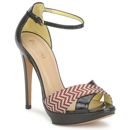 Chaussures Femme Sandales et Nu-pieds Pollini PA1638CC1V CUOIO-ROSSO